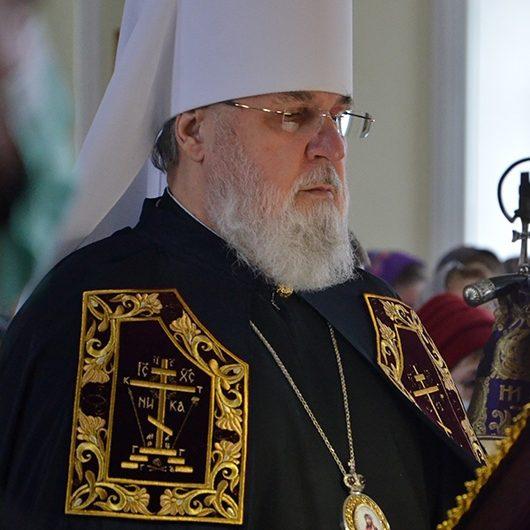 Повечерие с чтением третьей части Великого покаянного канона преподобного Андрея Критского