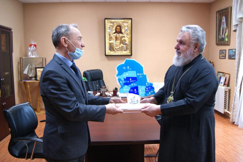 Глава Пермской митрополии провел рабочую встречу с представителями архивов Пермского края
