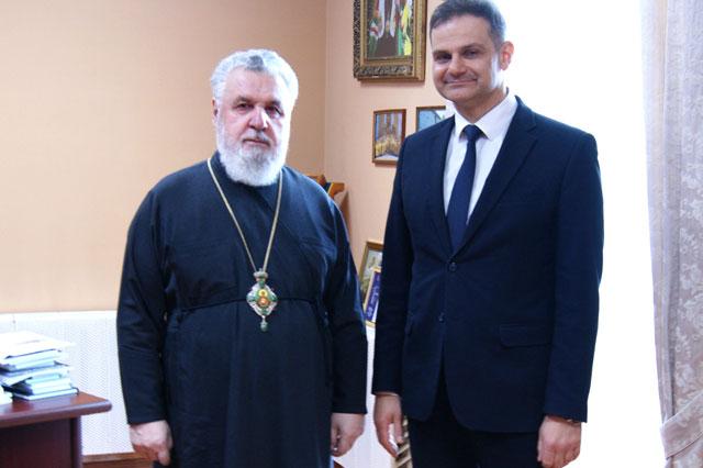 Состоялась рабочая встреча Главы Пермской митрополии с Главным федеральным инспектором по Пермскому краю