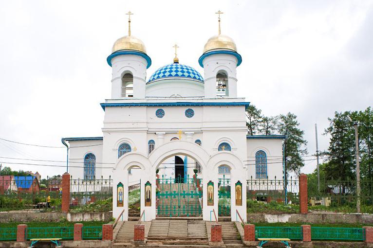Храм в честь Святой Троицы (пос. Полазна)