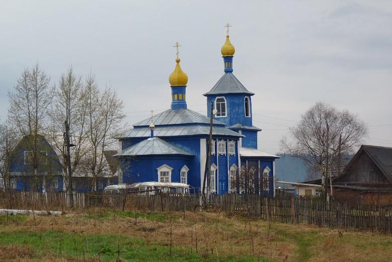 Храм пророка Илии села Усть-Сыны