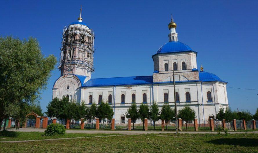 Храм пророка Илии села Орда