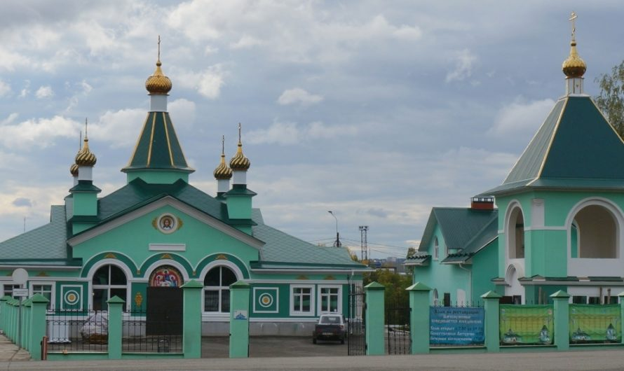 Храм Святой Троицы города Чайковский