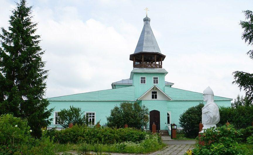 Храм благоверного князя Александра Невского села Усть-Качка