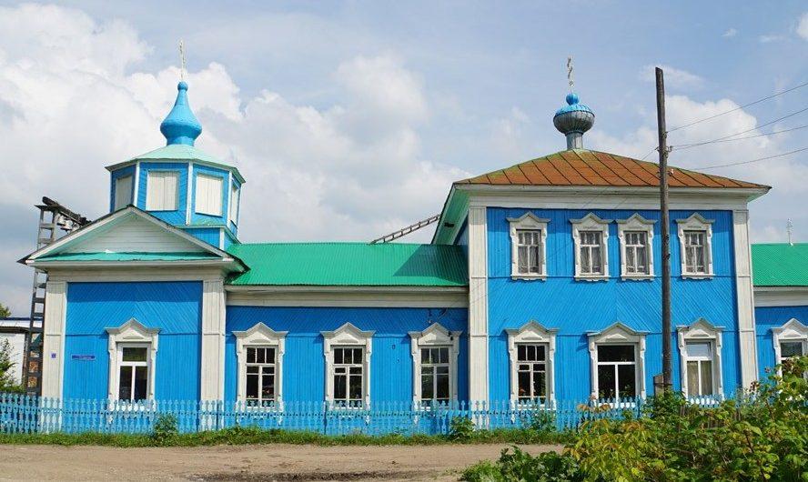 Храм Всех святых поселка Юго-Камский