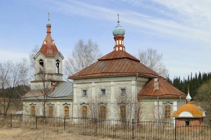 Храм Преображения Господня деревни Полыгарец
