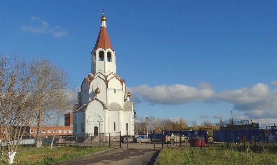 Храм апостола Андрея Первозванного города Перми