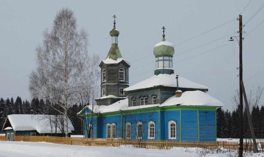 Храм блаженного Прокопия Устюжского села Плотниково