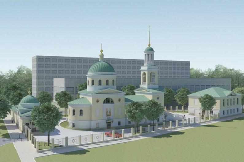 Храм иконы Божией Матери «Всецарица» города Перми