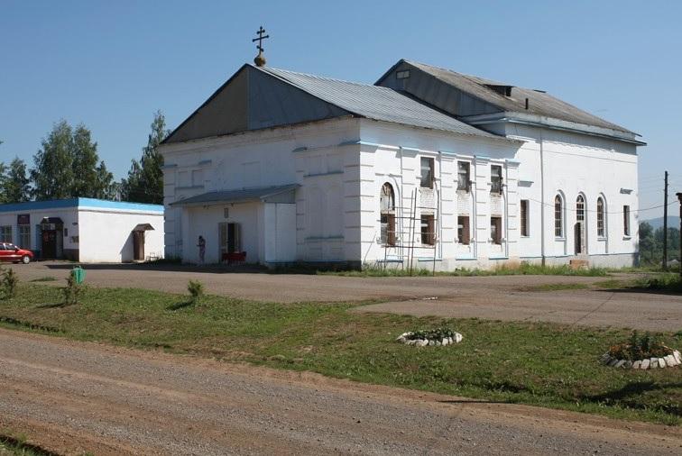 Храм Покрова Пресвятой Богородицы села Крылово