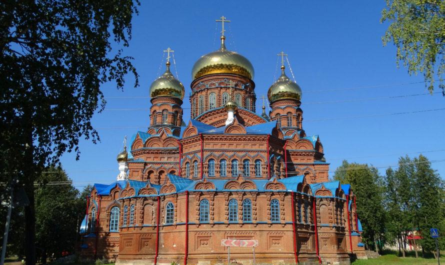 Собор Святой Троицы города Осы