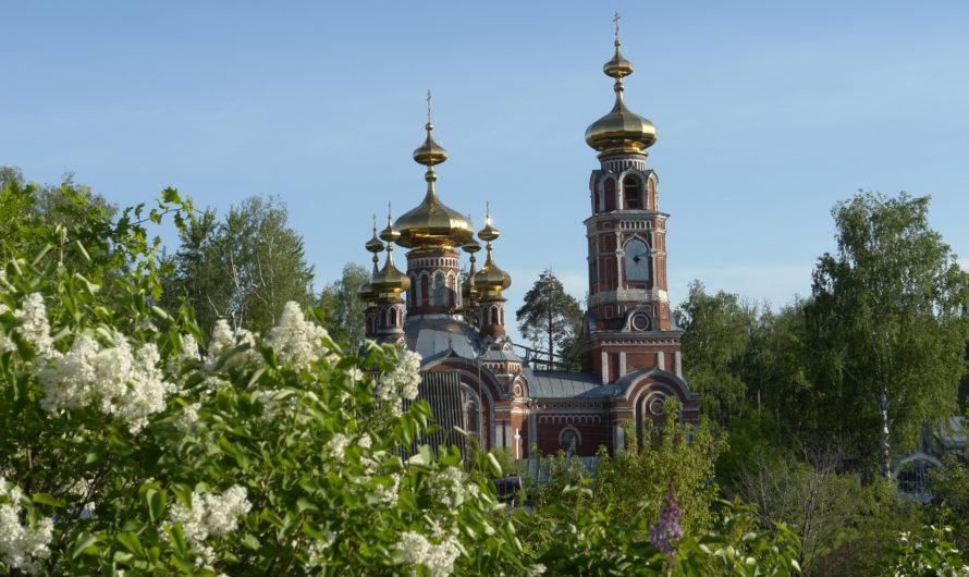Храм Казанской иконы Божией Матери города Осы