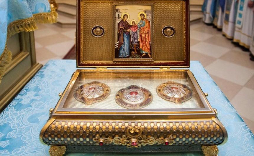 Сюжет телеканала «Союз»: В Пермь доставлен ковчег с частью Пояса Пресвятой Богородицы (26 октября 2020 года)
