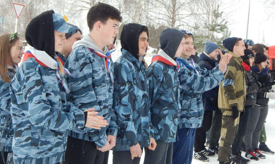 Сюжет телеканала «Союз»: В поселке Юг прошли детско-юношеские патриотические военно-спортивные игры (26 февраля 2020 года)