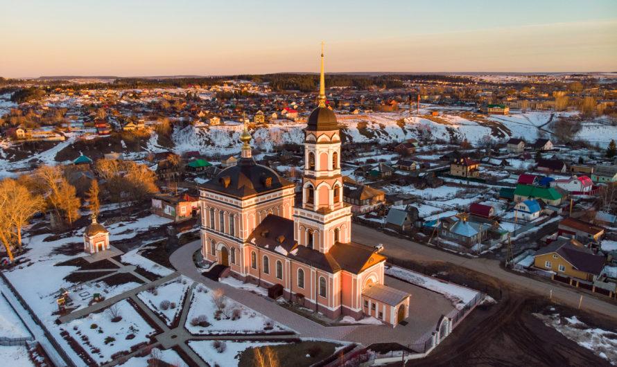 Свято-Троицкий храм села Нижние Муллы