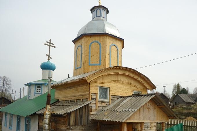Храм святителя Стефана, епископа Великопермского поселка Кормовище