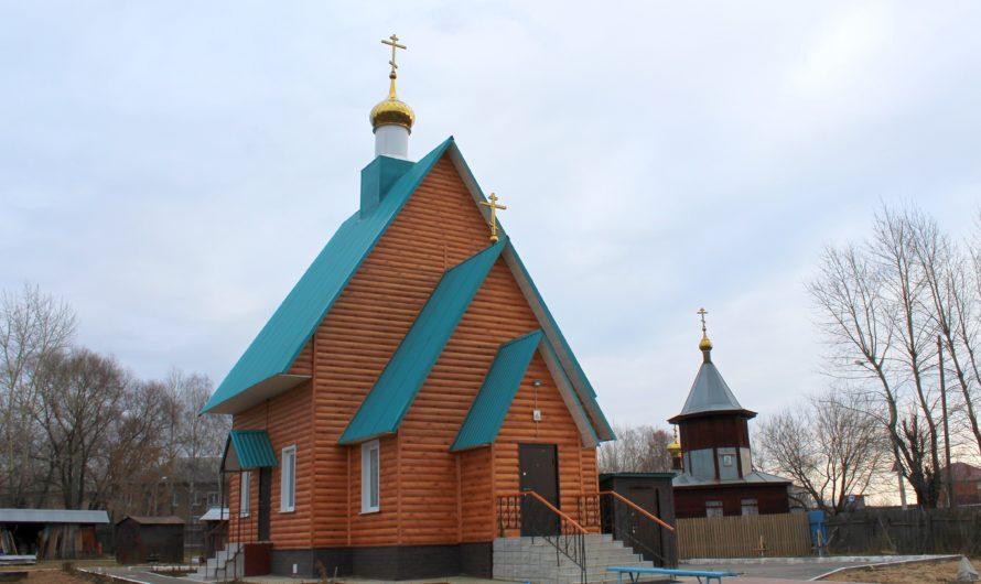 Храм Рождества Пресвятой Богородицы в микрорайоне Запруд