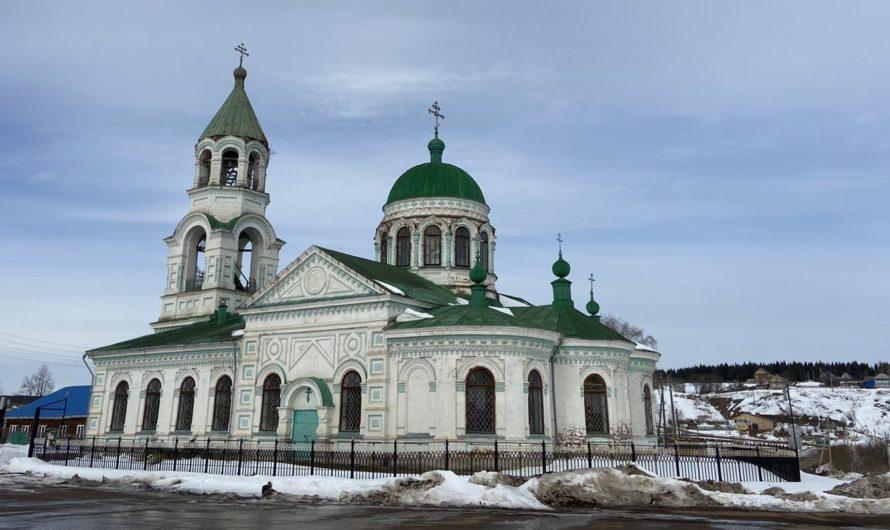 Храм Святой Троицы села Ашап