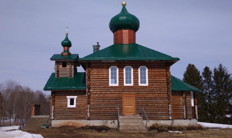Храм-часовня в честь Архангела Михаила (пос. Нижний Пальник)