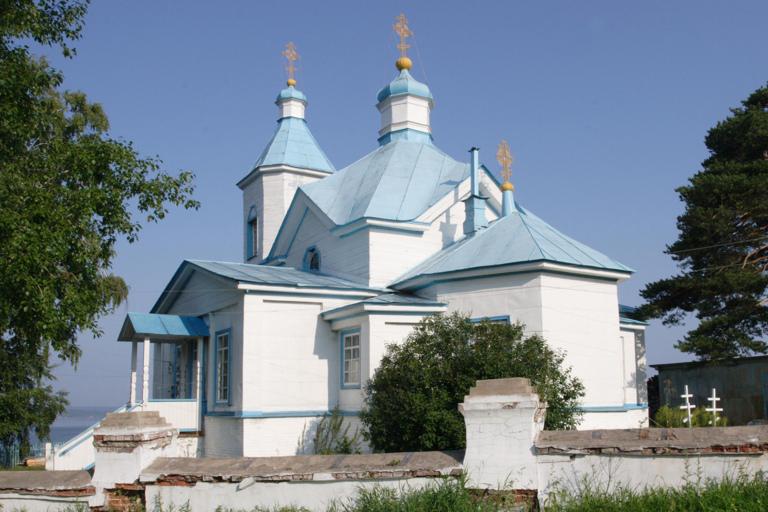 Храм в честь Рождества Христова (с. Усть-Гаревая)