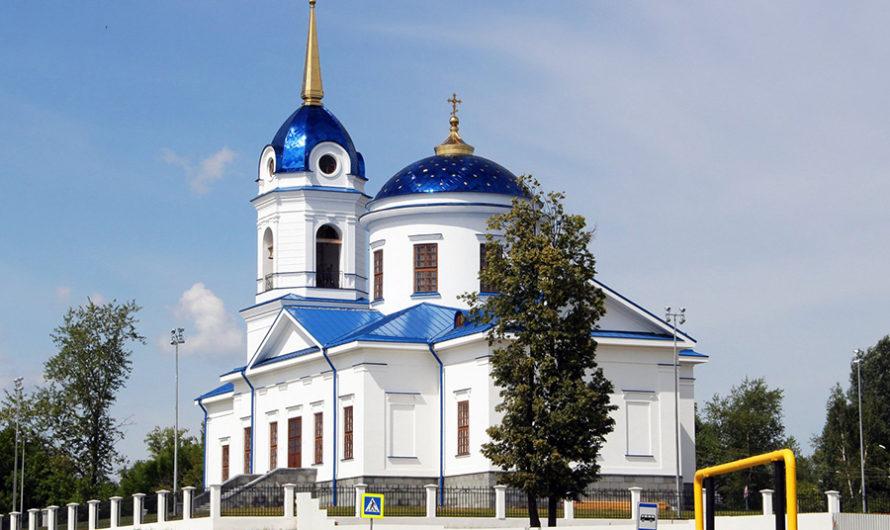 Храм Рождества Пресвятой Богородицы (г. Добрянка)