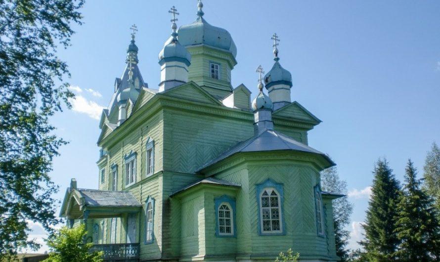 Храм апостола и евангелиста Иоанна Богослова села Верх-Буй