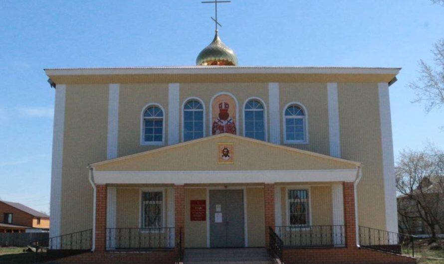 Храм священномученика Андроника, архиепископа Пермского и Кунгурского города Чернушки