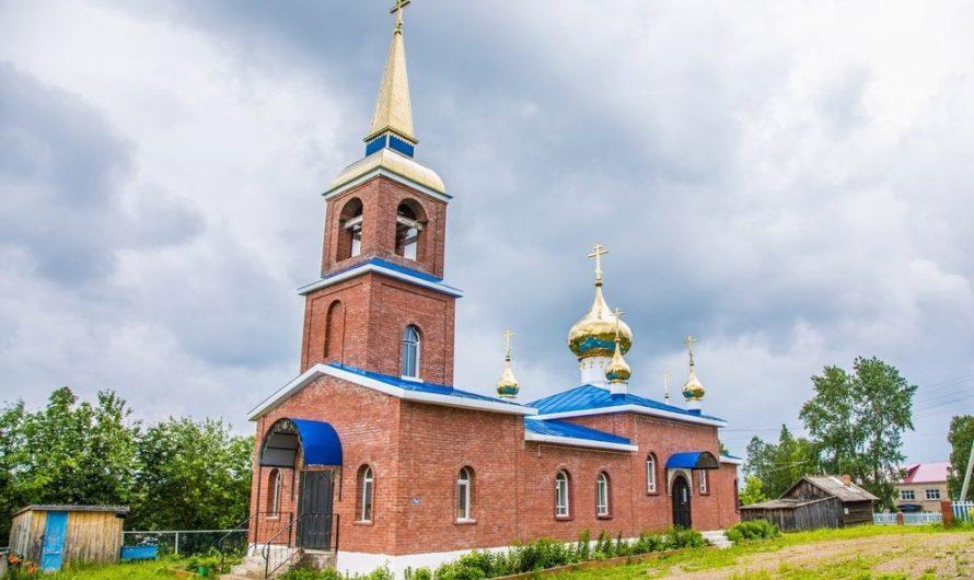 Храм святителя Афанасия Великого, архиепископа Александрийского села Большая Уса
