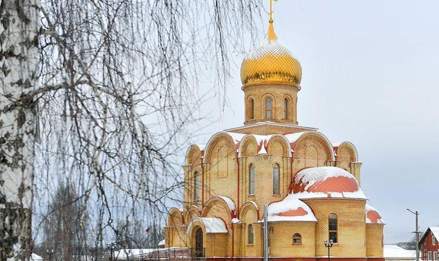 Храм святителя Алексия, митрополита Московского города Чернушки