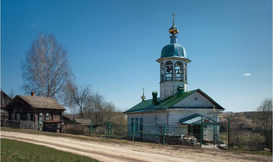 Храм Святого Духа села Заспалово