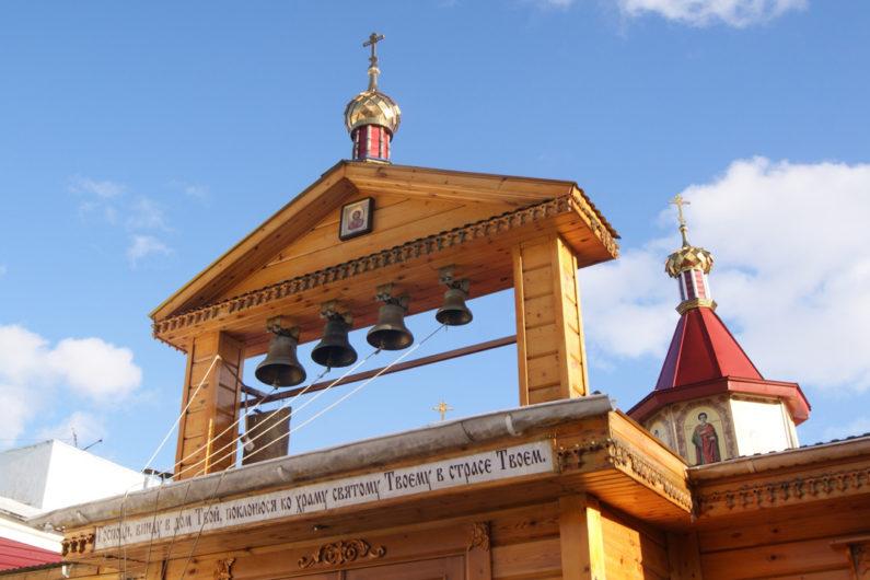 Храм великомученика и целителя Пантелеимона при МСЧ №9 города Перми