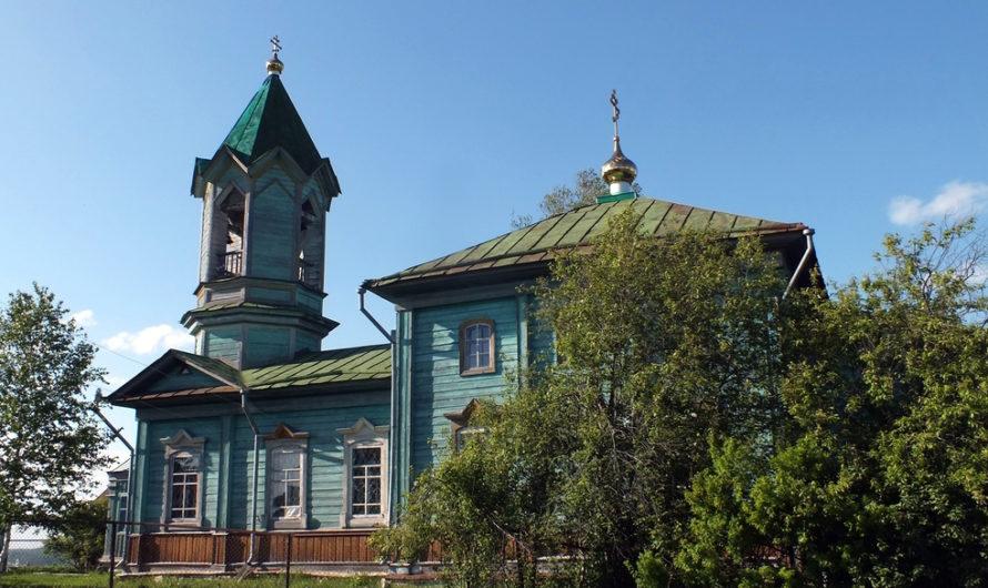 Храм святителя Николая Чудотворца села Телес