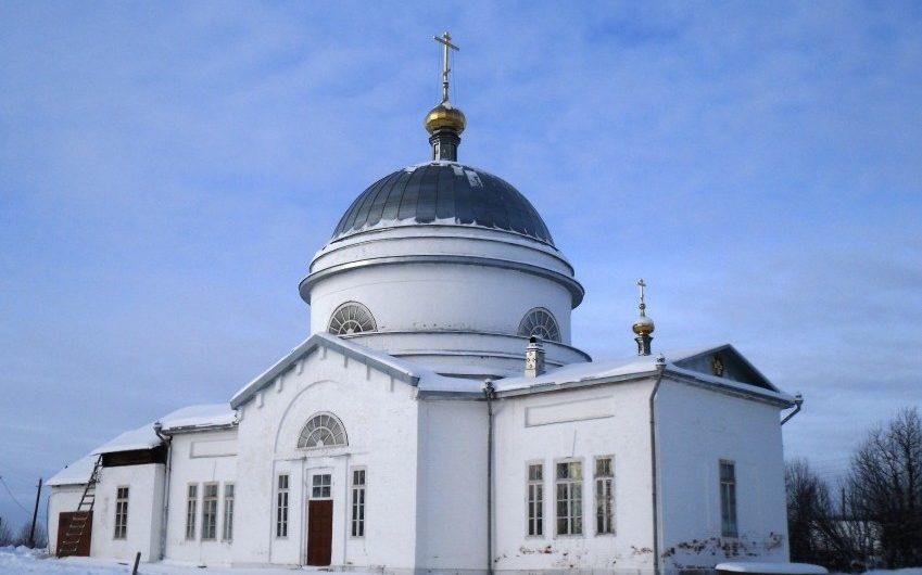 Храм Вознесения Господня села Троельга