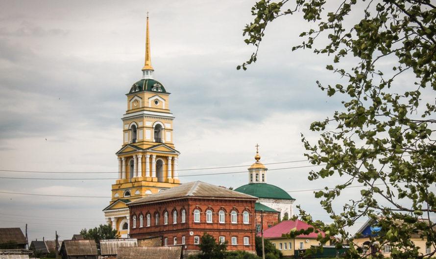 Храм Усекновения главы Пророка Предтечи и Крестителя Господня Иоанна села Ленск