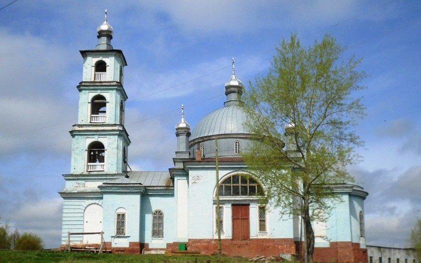 Храм благоверного князя Александра Невского села Бым