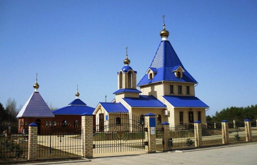 Храм Успения Пресвятой Богородицы города Чайковский