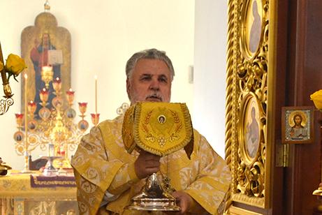 Архиерейское богослужение в день памяти святителя Николая, архиепископа Мир Ликийских Чудотворца