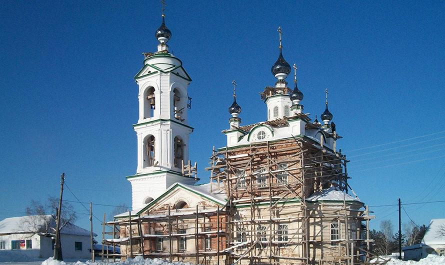 Храм святителя Николая Чудотворца в селе Неволино