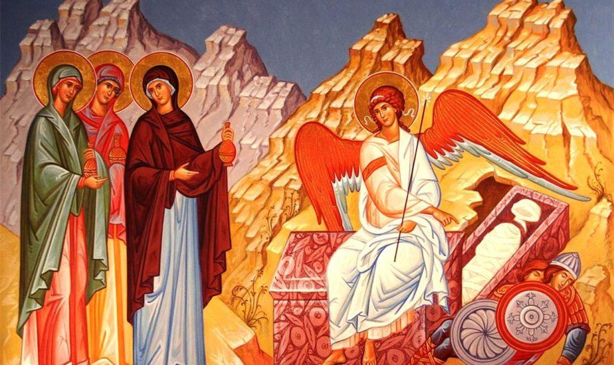 Архиерейское богослужение в Неделю 3-ю по Пасхе, святых Жен-мироносиц