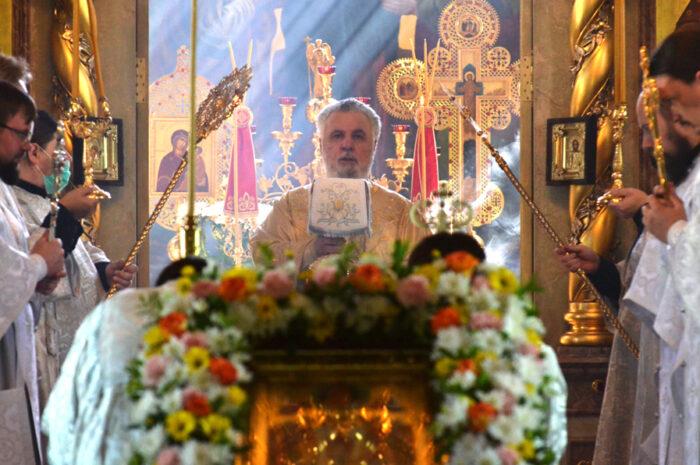 Архиерейское богослужение в праздник Вознесения Господня