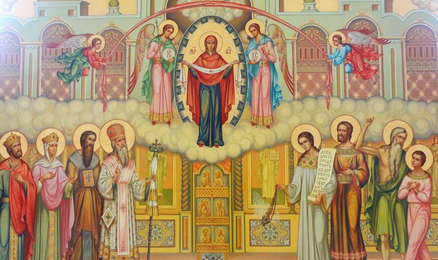 Архиерейское богослужение в день празднования Покрова Пресвятой Богородицы